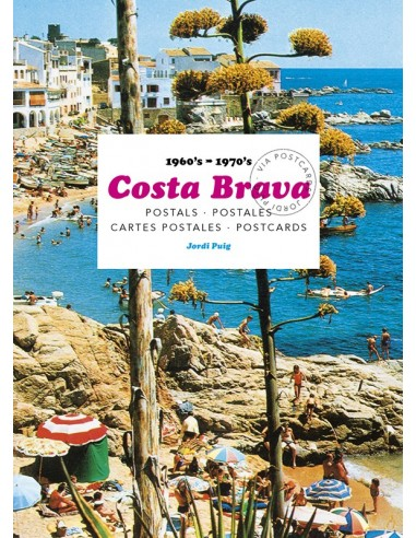 Costa Brava. Postcards, 1960's-1970's.